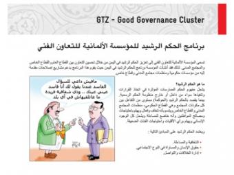 GTZ Good Governance Cluster in Yemen