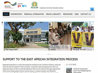 Support to the East African Integration Process